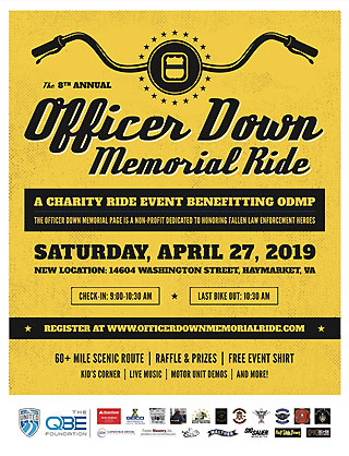8th Annual Officer Down Memorial Ride